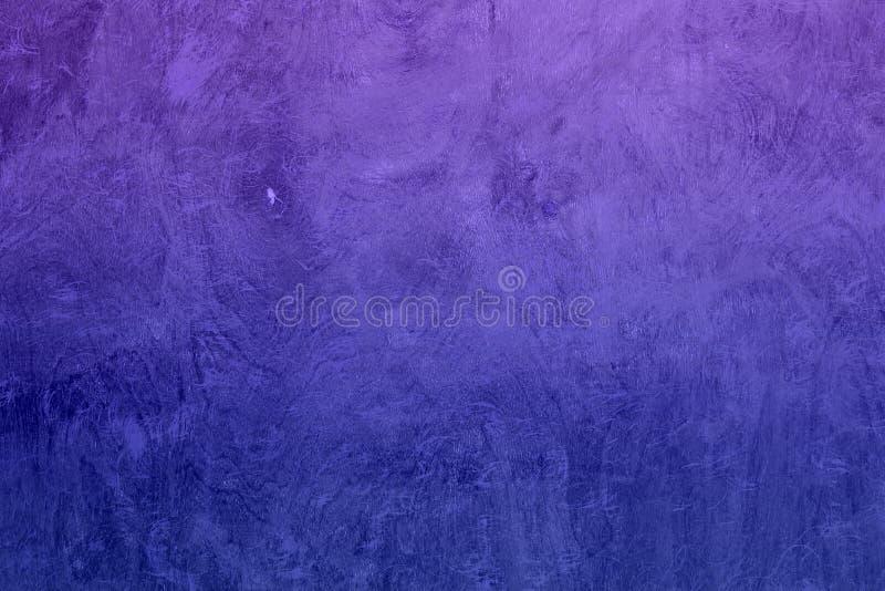 Blå designkurva som skrapas för att sörja textur - underbar abstrakt fotobakgrund arkivfoto