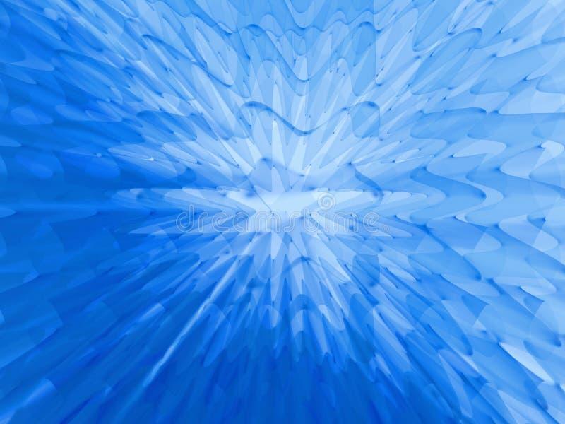 blå djup gelé vektor illustrationer