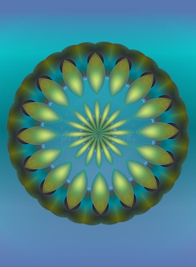 blå extas royaltyfri illustrationer