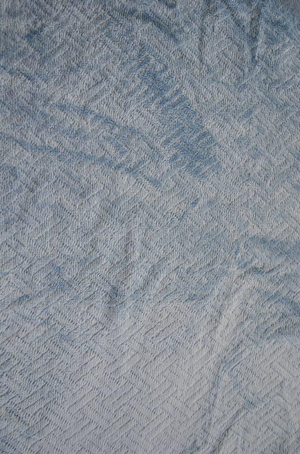 Blå färgPashmina textur arkivbild