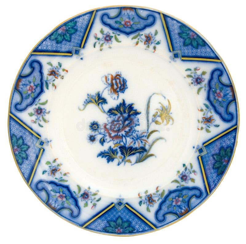 blå flödesplatta royaltyfria foton