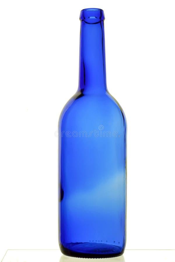 blå flaska royaltyfria foton