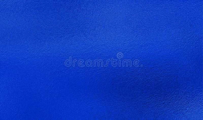 Blå folietexturbakgrund royaltyfria bilder