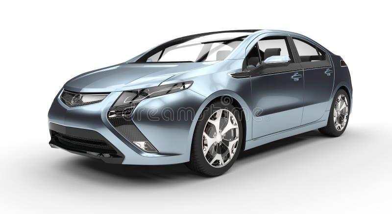 Blå fusionbil vektor illustrationer