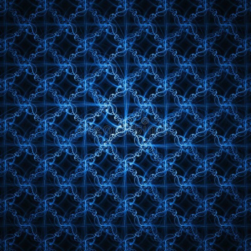 blå glödtråd vektor illustrationer