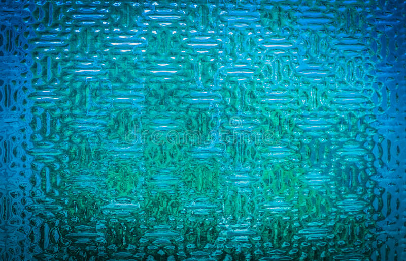 Blå glass industriell textur royaltyfri fotografi