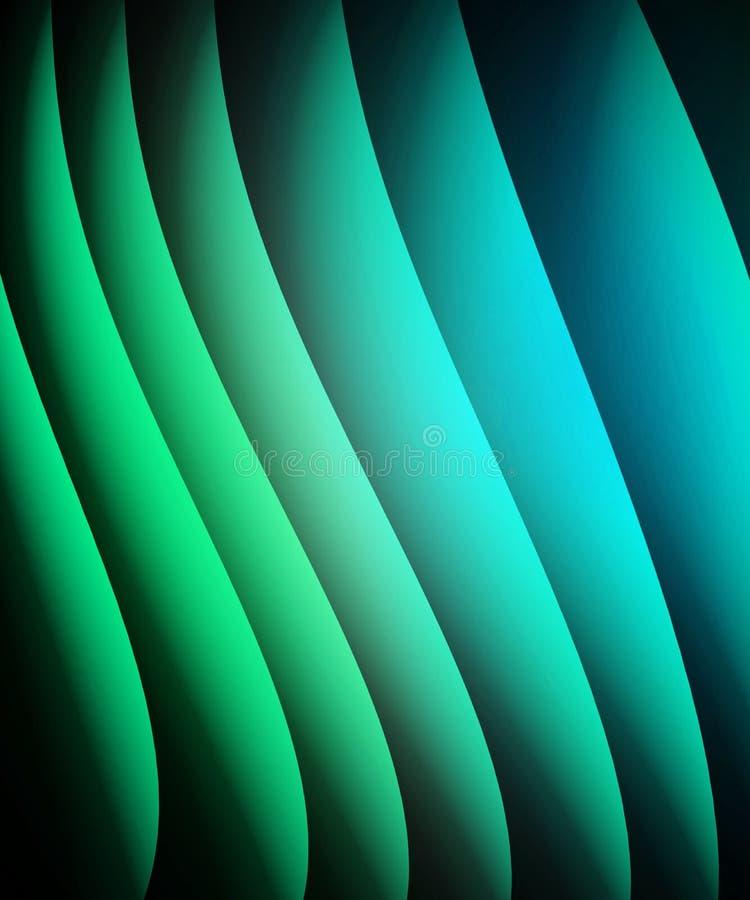 blå green för abstrakt bakgrund stock illustrationer