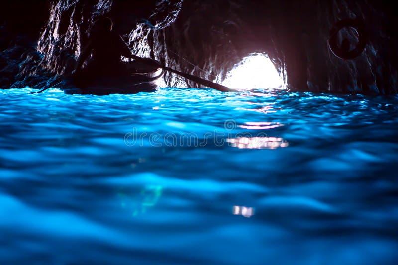 Blå grotta (Capri) royaltyfri fotografi