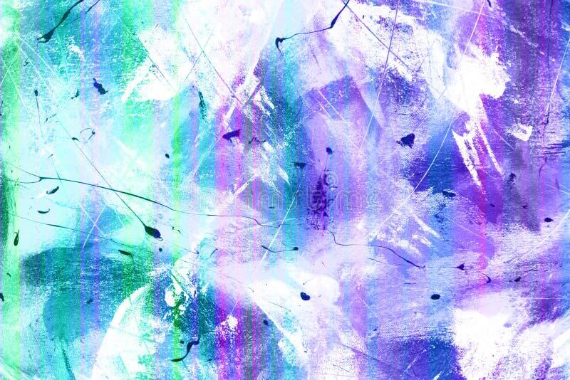blå grunge royaltyfri illustrationer