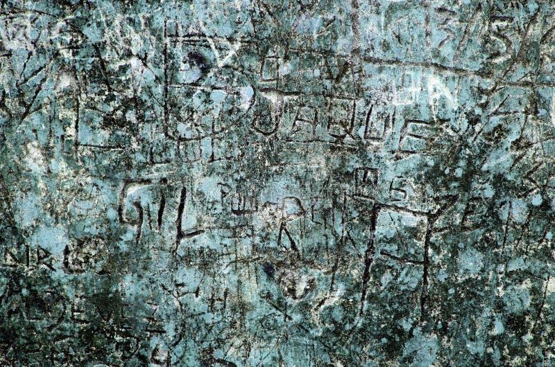 Blå grungebakgrund arkivfoton