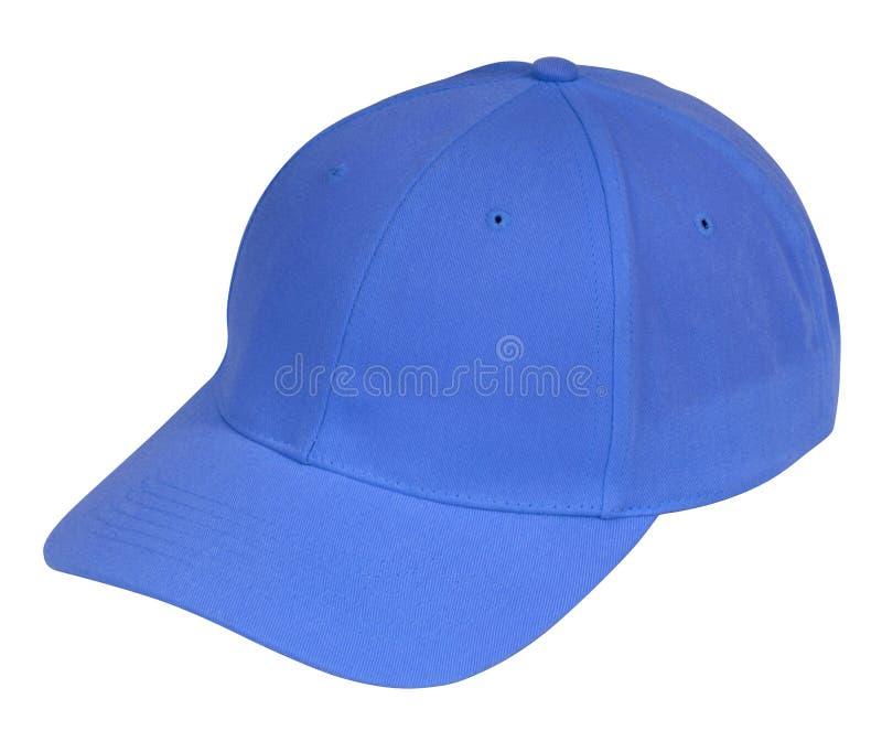 blå hatt royaltyfri foto