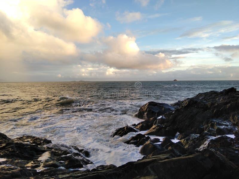 blå havssky fotografering för bildbyråer