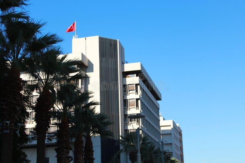 Blå himmel ovanför Turkiet royaltyfria bilder