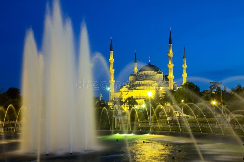 blå istanbul moské arkivfoton