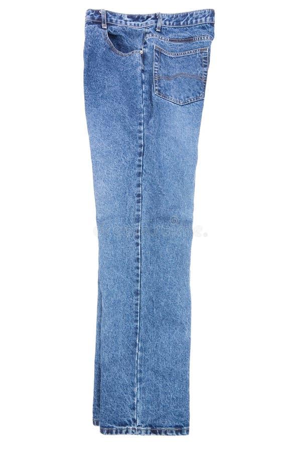blå jean royaltyfri bild
