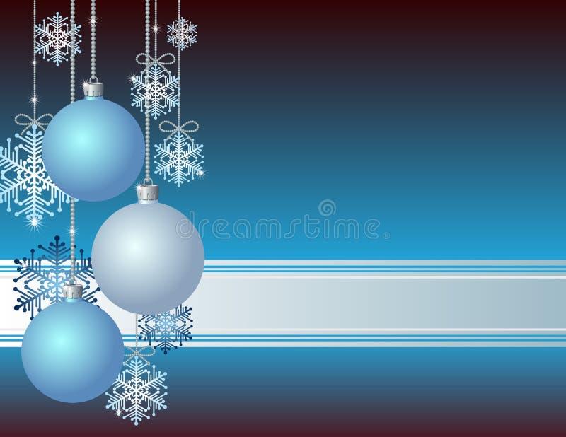 Download Blå julkort vektor illustrationer. Illustration av element - 27279081