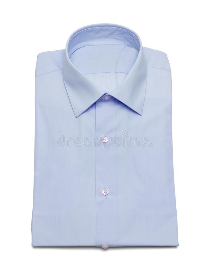 Blå klänningskjorta arkivfoton