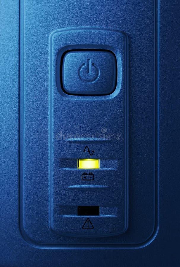 blå knappström fotografering för bildbyråer