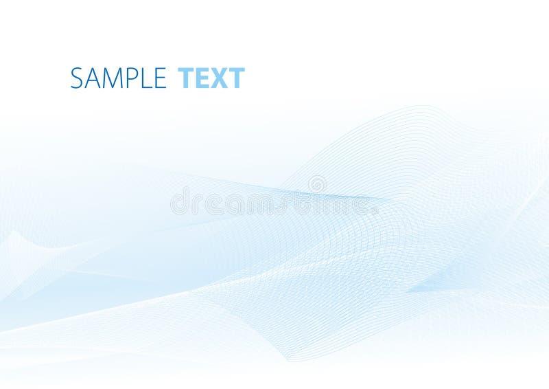 blå kortlampa stock illustrationer