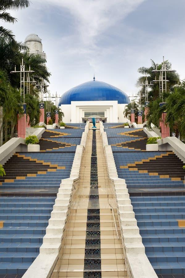 blå kupol royaltyfri fotografi