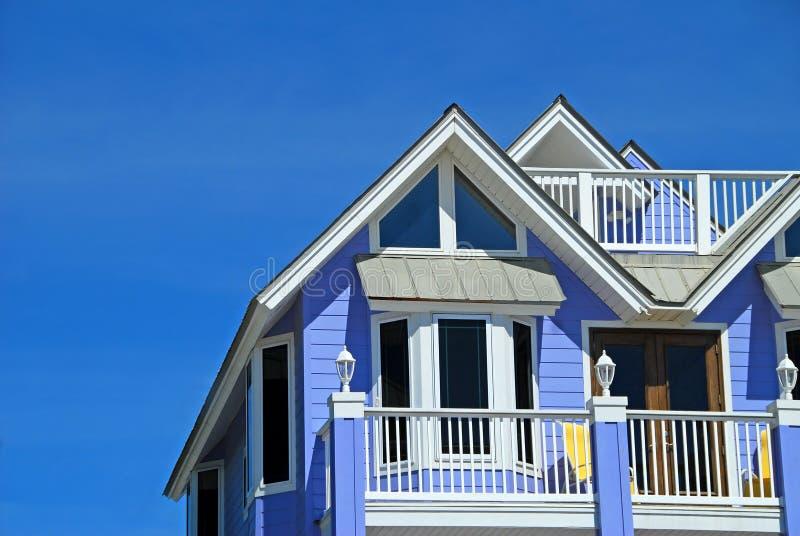 blå kust- utgångspunkt royaltyfri foto