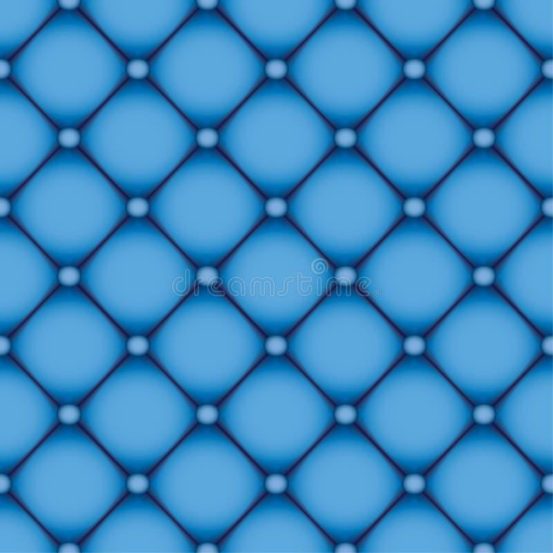 Blå läderbakgrund vektor illustrationer