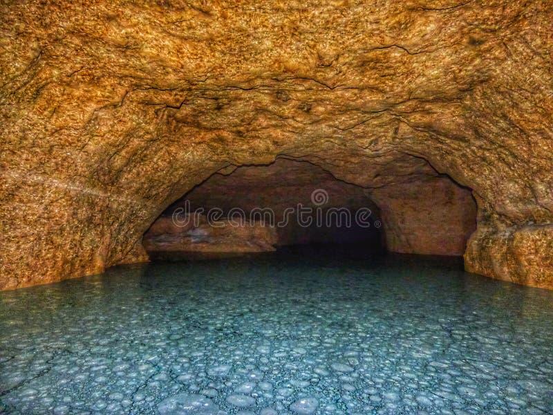 blå lagun royaltyfri foto