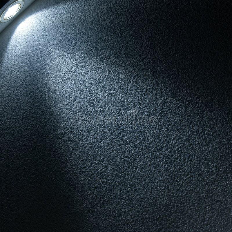 blå ljus projektor för stråle royaltyfria bilder