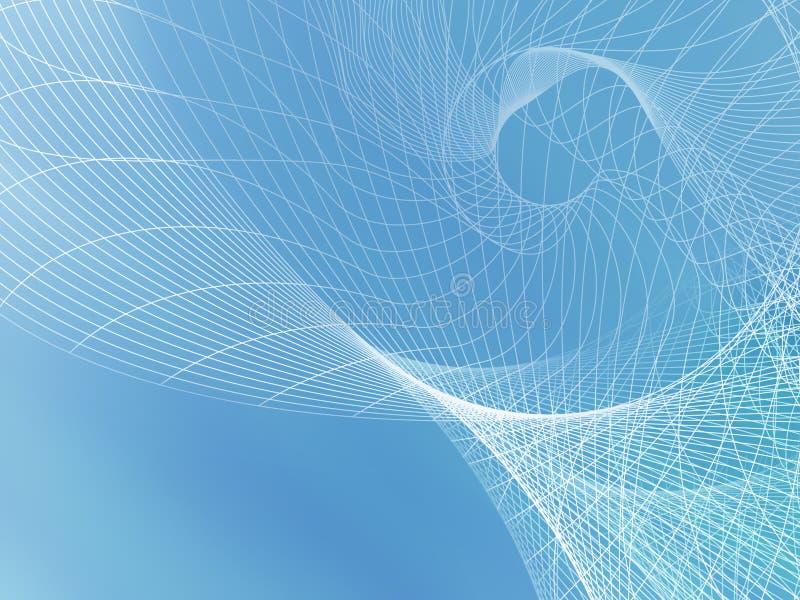 blå ljus soft för bakgrund stock illustrationer