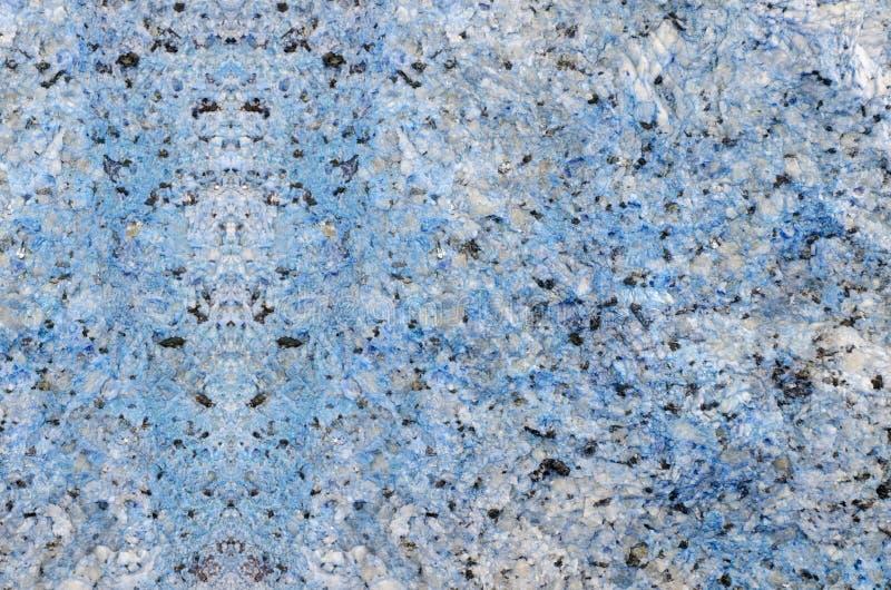 Blå marmorsten arkivbild
