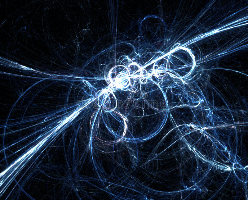 blå matris vektor illustrationer