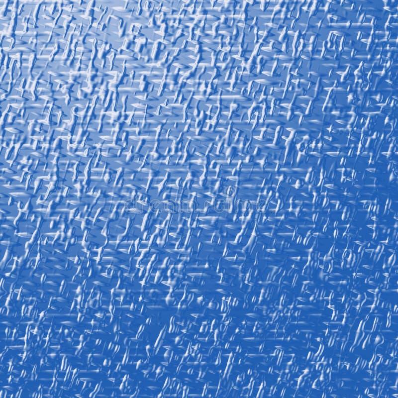 blå metallisk textur royaltyfri illustrationer