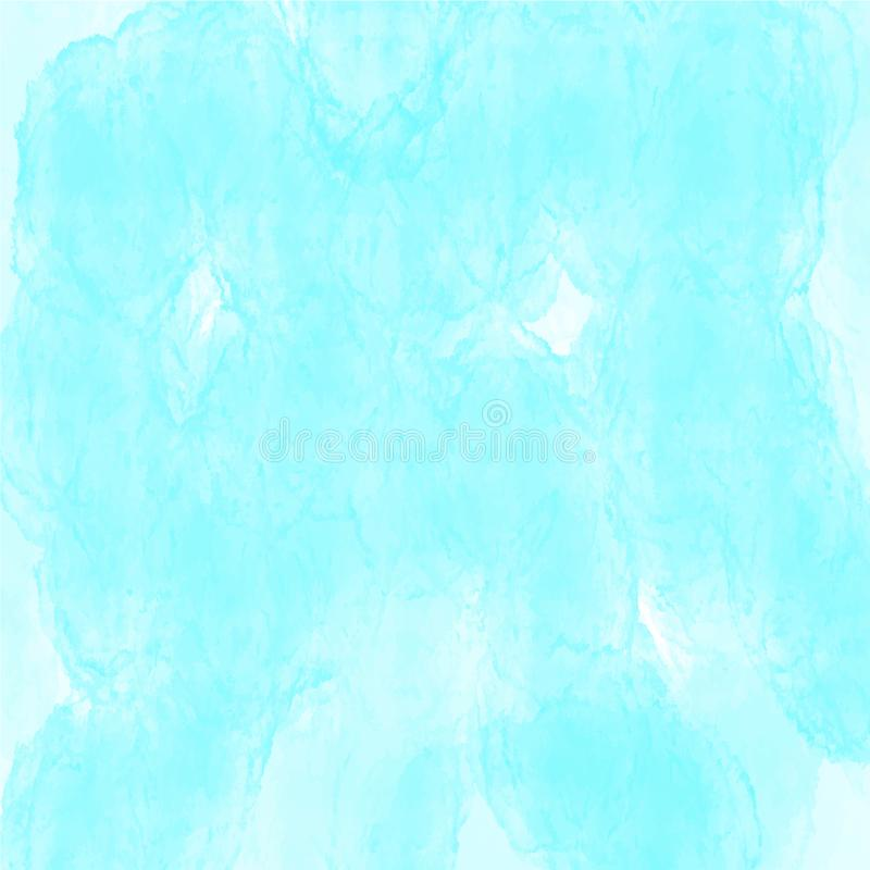 Blå modell för vektor för vattenfärgbakgrundstextur för websites, presentationer eller konstverk royaltyfri foto