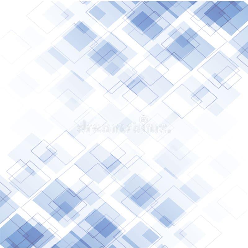 Blå modern abstrakt bakgrund arkivbild