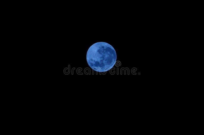blå moon royaltyfria foton