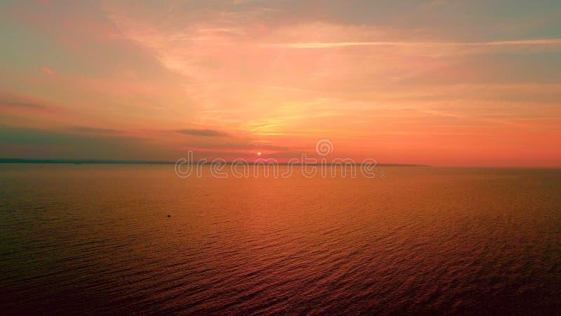 Blå morgon fotografering för bildbyråer