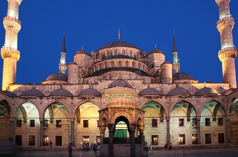 blå moskéstanbul arkivfoton
