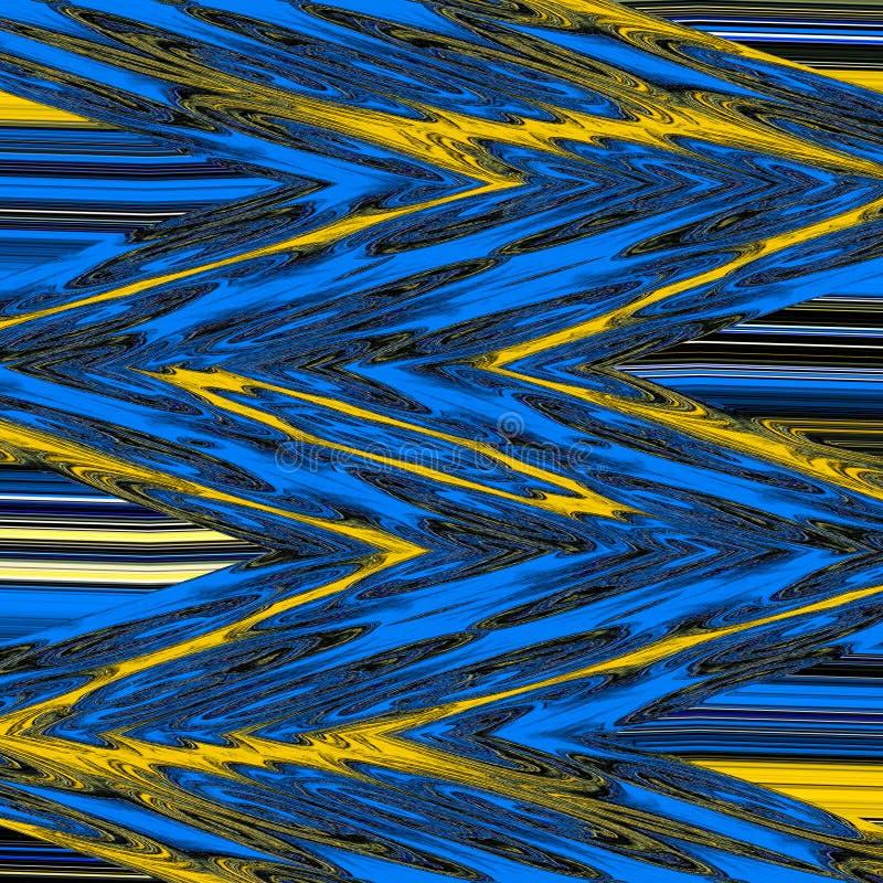 Blå och gul sparremodellbakgrund vektor illustrationer