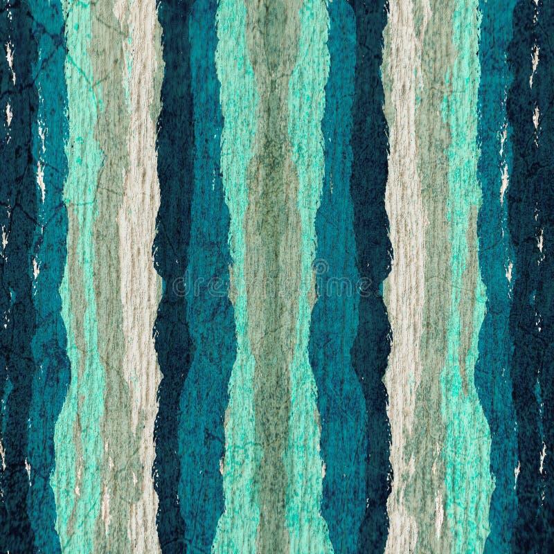 Blå och mjuk blå blå för vattenfärgmålarfärgabstrakt begrepp för färg backg för Grungemörker - royaltyfri illustrationer