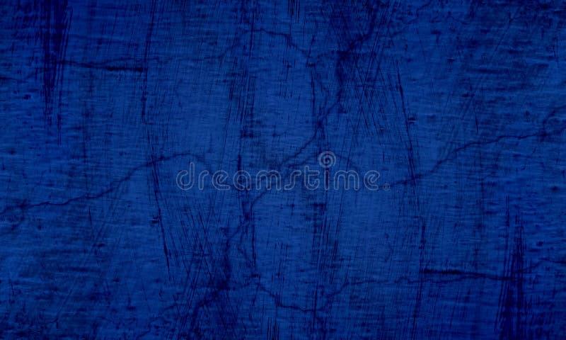 Bl? och svart v?ggtextur f?r Grunge av konkret golvbakgrund f?r skapelseabstrakt begrepp royaltyfri bild