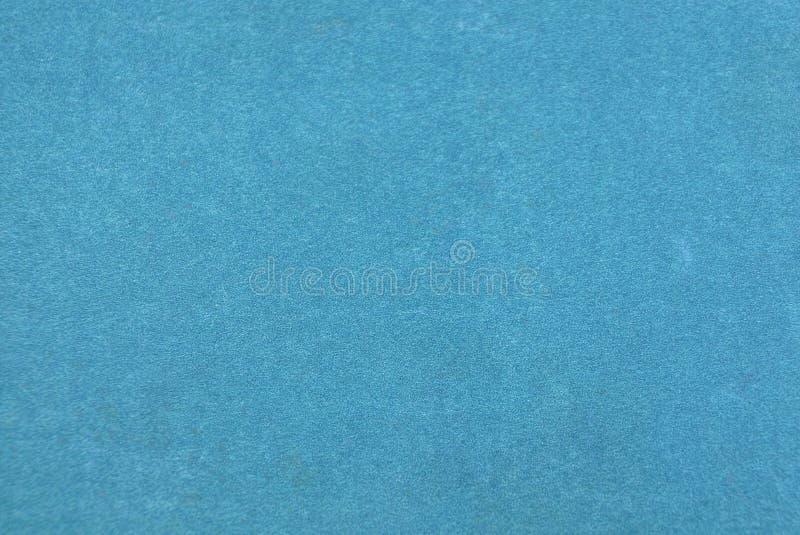 Blå pappers- textur från gammalt sjaskigt bokomslag arkivbild