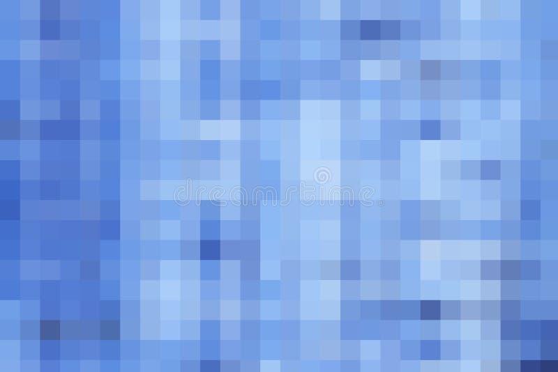 Blå PIXELbakgrund royaltyfri bild
