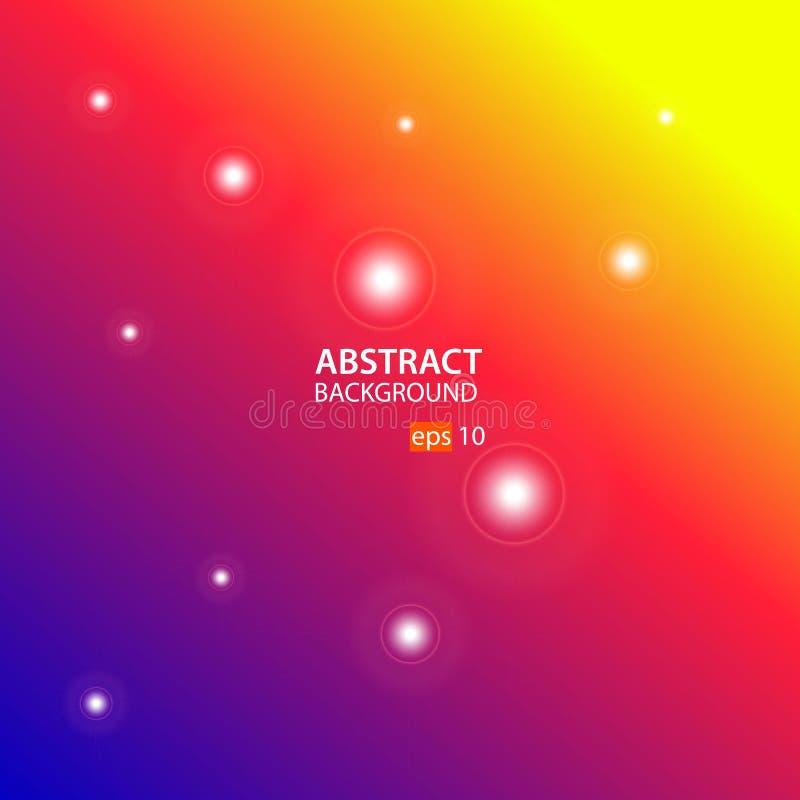 Blå, röd gul abstrakt bakgrundsvektor vektor illustrationer