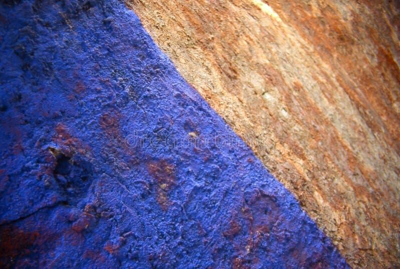blå rost royaltyfri fotografi