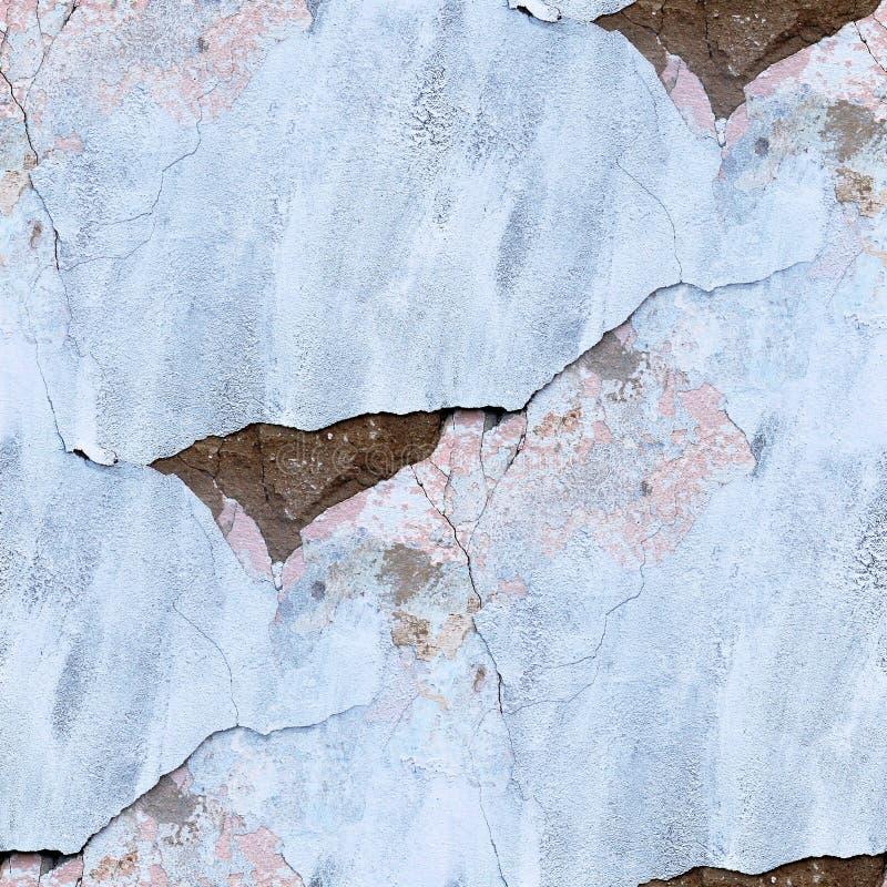 Blå sömlös textur av den gamla stenväggen fotografering för bildbyråer