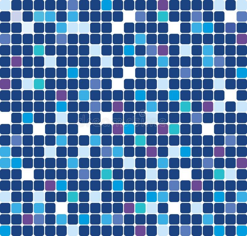Blå signalbakgrund royaltyfri illustrationer