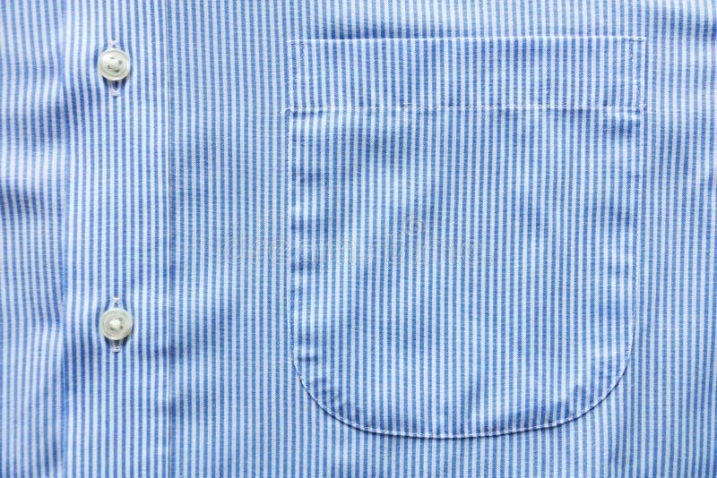 Blå skjorta royaltyfri foto