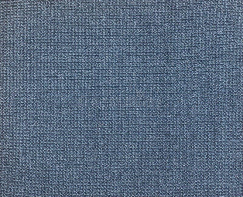 blå textiltextur royaltyfri fotografi
