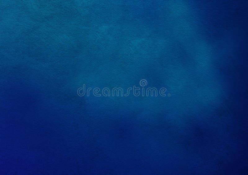Blå texturerad bakgrundstapetdesign royaltyfri illustrationer