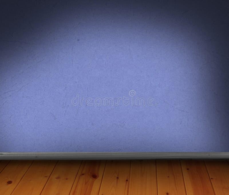 blå tom trägolvlokal vektor illustrationer